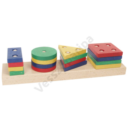Mértani formalap - 4 színű, tégla