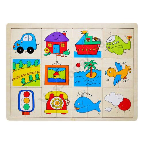 Puzzle felezős - járműves