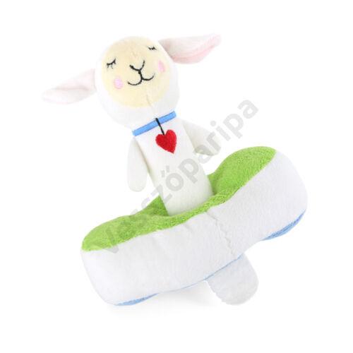 Plüss csörgő - bárány, két részes