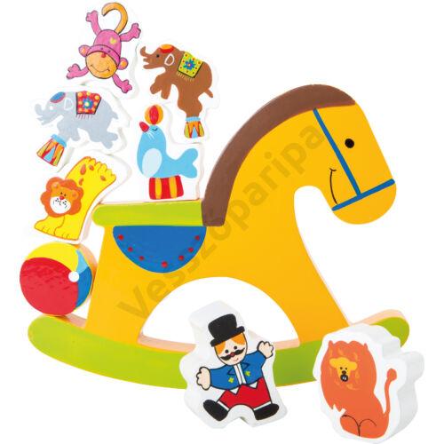 Egyensúlyozó társasjáték - Cirkuszi hintaló
