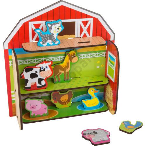 Farm -  játékkészlet háziállatokkal
