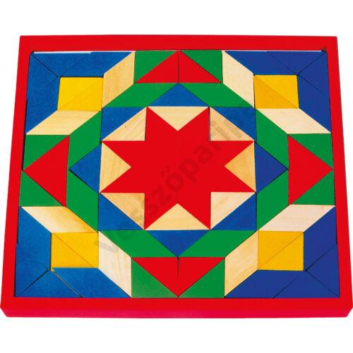 Mozaik kirakó - színes