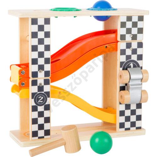 """Golyós kalapáló játék és autók a lejtőn egyben - """"Forma 1"""""""