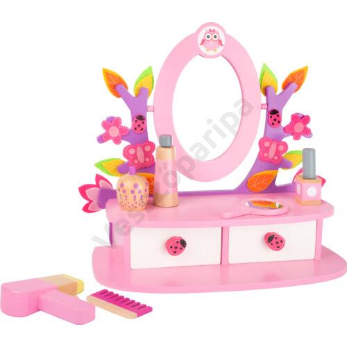 Játék fésülködő asztal tükörrel