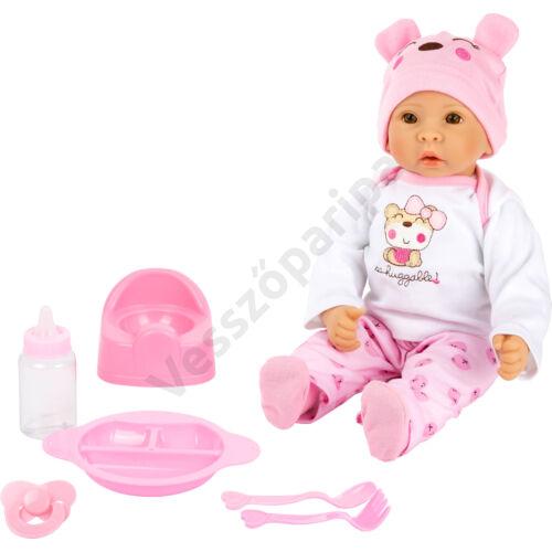 """Játékbaba - """"Marie"""" - kiegészítőkkel"""