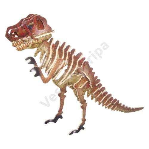 3D puzzle - T-Rex színes
