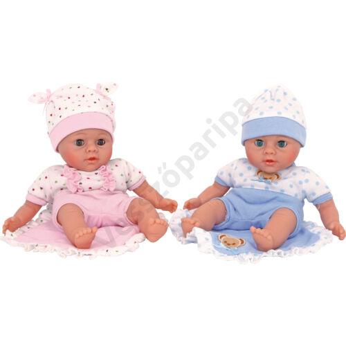 Játék iker babák - Krisztián és Klára