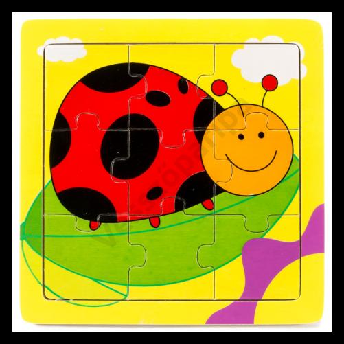 Puzzle katicás - 9 darabos