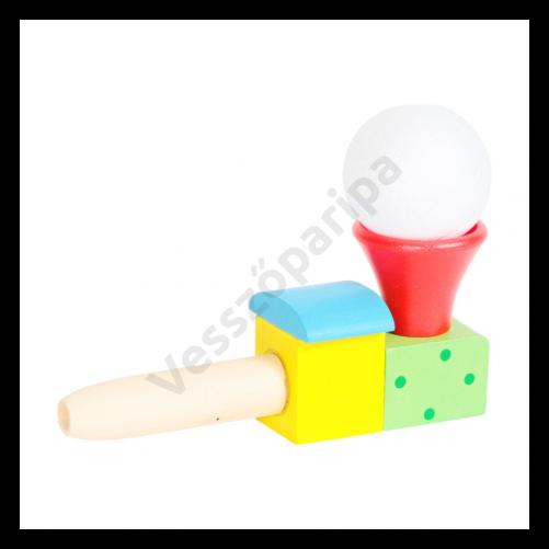Ügyességi labda lebegtető - piros