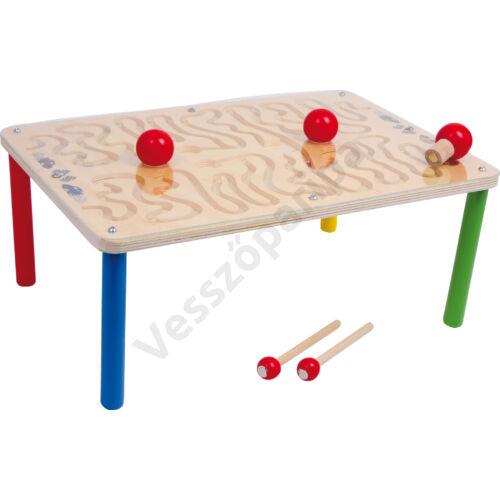 Mágneses golyóvezető asztal