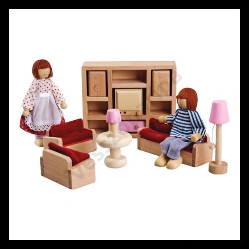Babaház bútor - nappali szoba