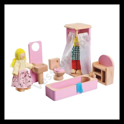Babaház bútor - fürdőszoba