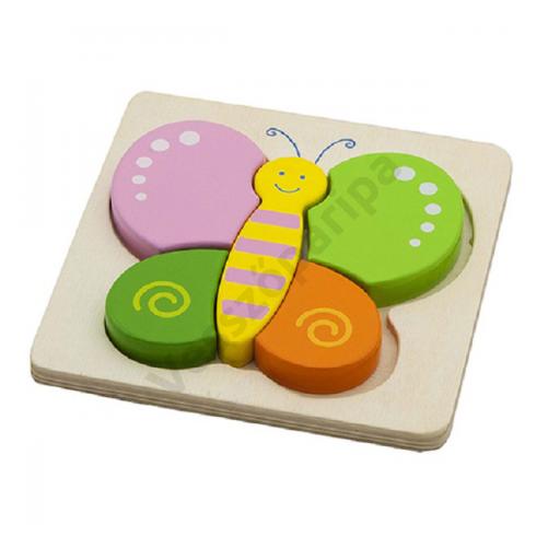 Magasított puzzle - pillangó