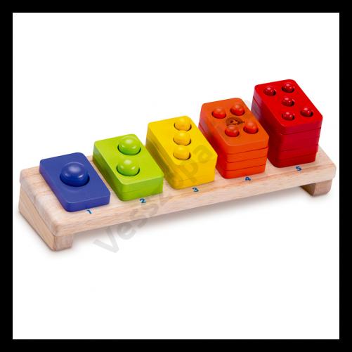 Mértani formalap - 5 színű, számolós