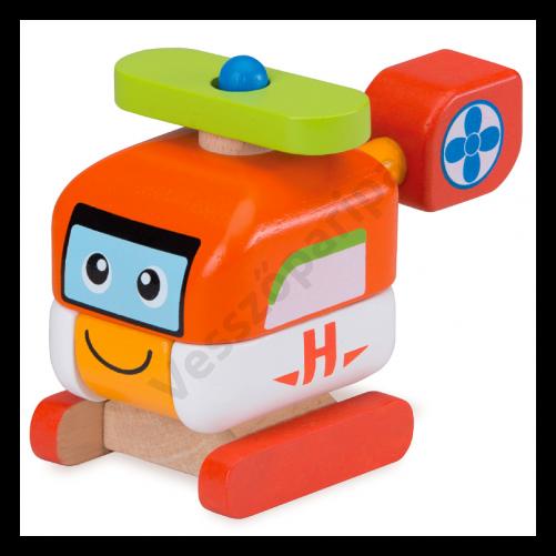 Szétszedhető játék helikopter