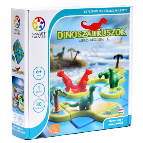 Dinoszauruszok - A varázslatos sziget - Smart Games