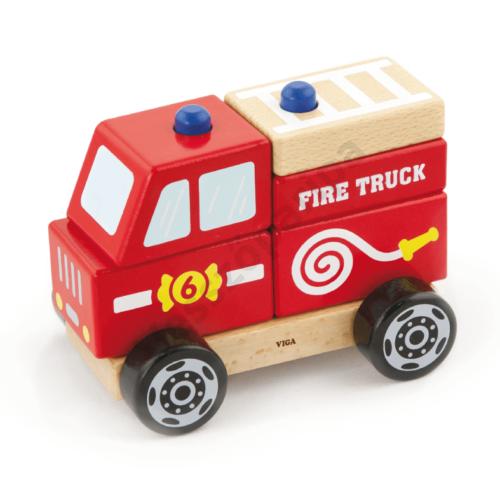 Szétszedhető tűzoltóautó - nagy