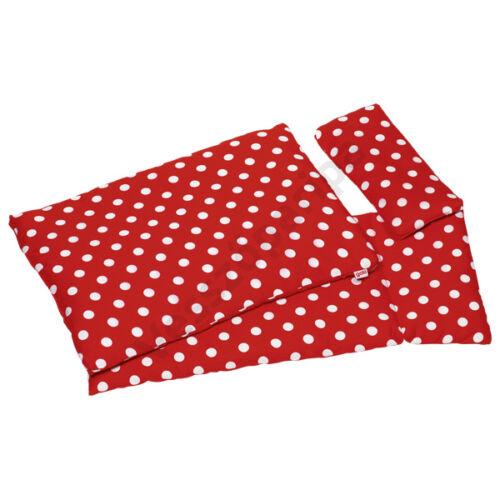 Goki 3 részes ágynemű - Piros pöttyös