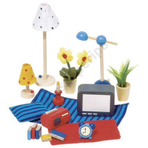 Babaház bútor - nappali szoba kiegészítők - goki