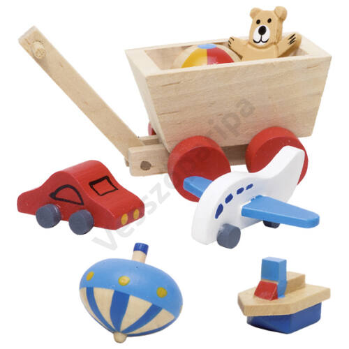 Babaház bútor - gyerekszoba kiegészítők - goki
