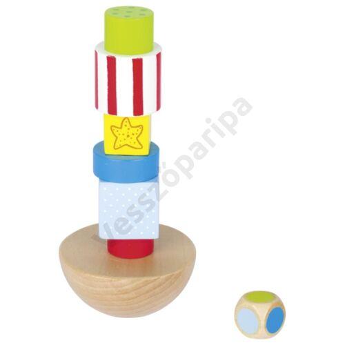 Egyensúlyozó torony - Peggy Diggledey -  goki