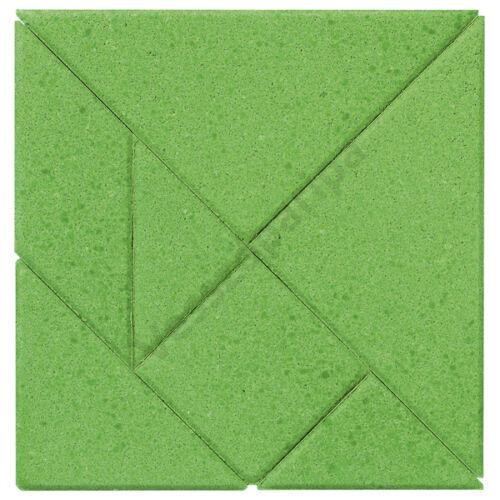Kőépítő puzzle - Tangram