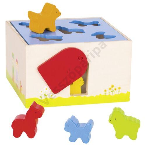 Formakereső doboz - állatos, goki