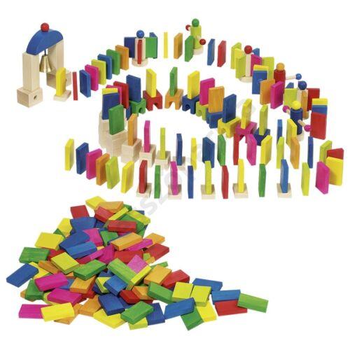 Goki színes sorépítő dominó forgatóval