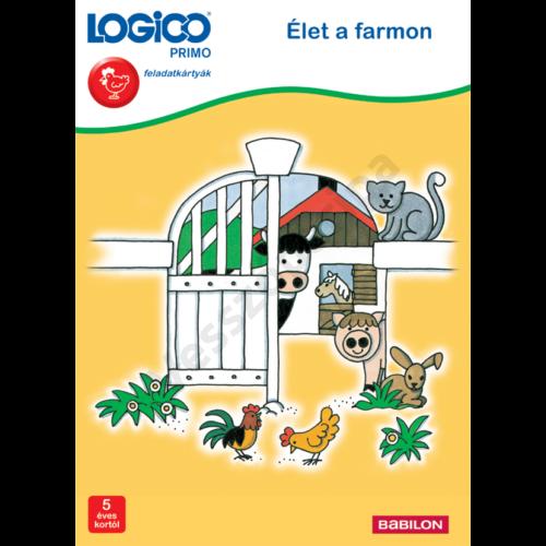 LOGICO PRIMO - feladatkártyák - Élet a farmon