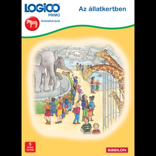 LOGICO PRIMO - feladatkártyák - Az állatkertben
