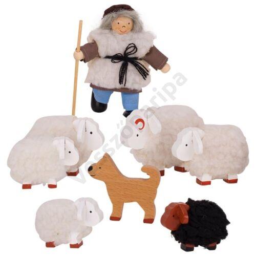 Pásztor juhokkal  - goki
