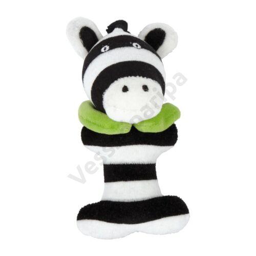 Plüss csörgő - zebra