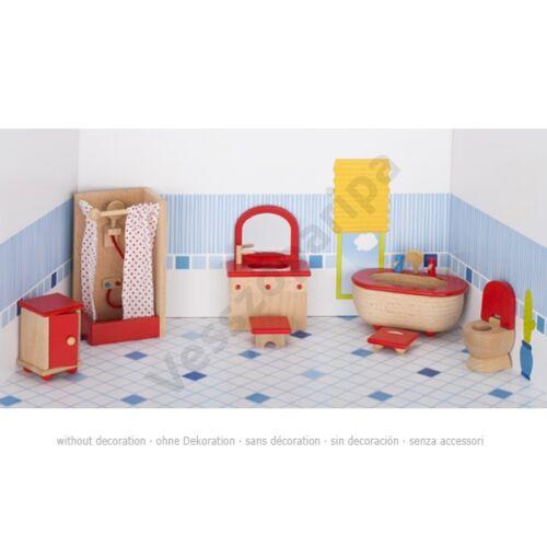 Fa babaház bútor fürdőszoba - goki