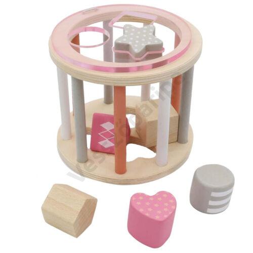 Formabedobó - henger alakú, rózsaszín