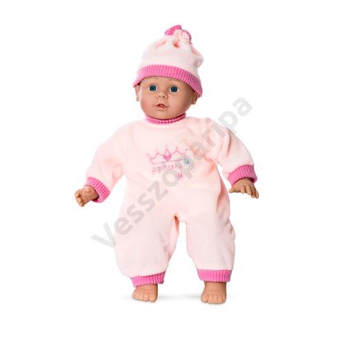 Puha testű élethű játék baba Minimommy