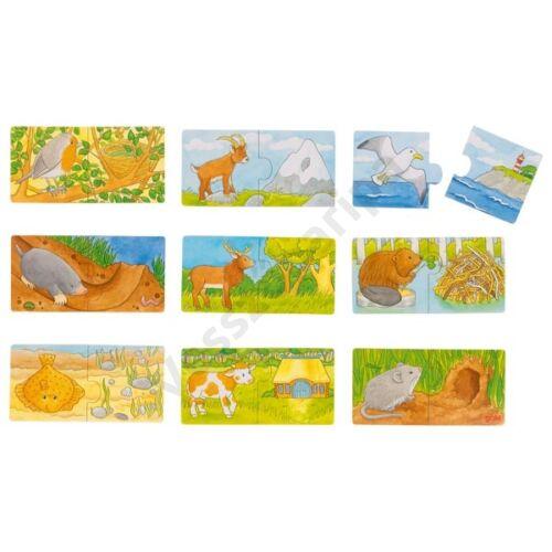 Goki - Mini puzzle - Ki hol él?