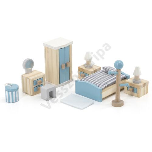 Babaház bútor -hálószoba, pasztell színben - PolarB