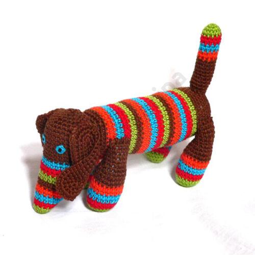 Mamazon horgolt barna tacskó kutya
