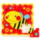 Kép 2/2 - Méhecskés puzzle - 9 darabos