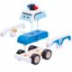 Kép 2/3 - Szétszedhető játék rendőrautó